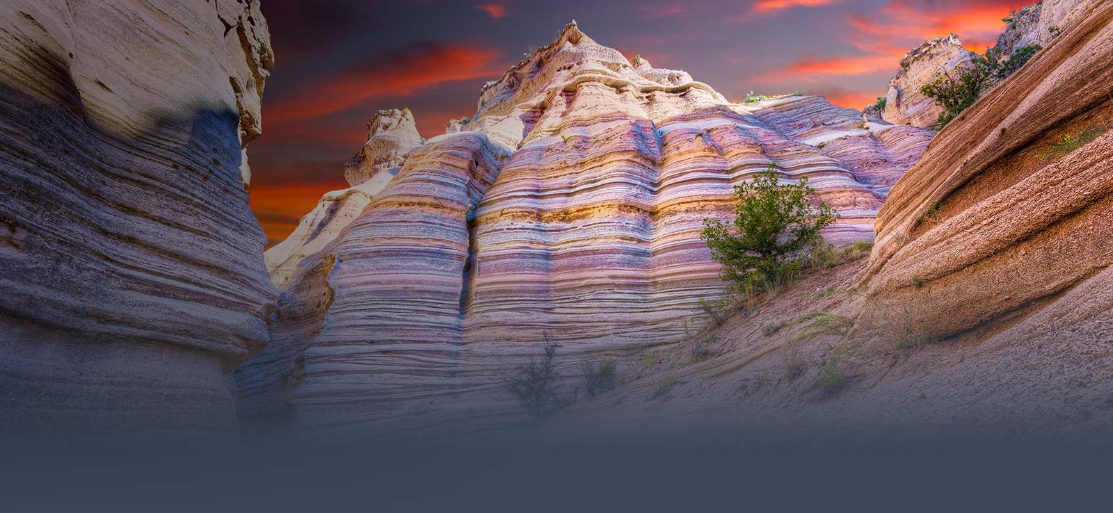 Cochiti rock formations